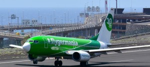 Germania: The German airline flies from the 7. November 2018 from Bremen to La Palma - Flights now bookable! Photo: Carlos Díaz