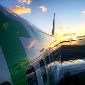 Transavia: Die niederländische Airline denkt jung. Pressefoto Transavia