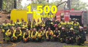 Die Frauen und Männer von der Freiwilligen Feuerwehr La Palma: Immer im Einsatz für Einheimische und Inselgäste.