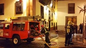 Dank an die Bomberos: Küchenbrand schnell gelöscht und Schlimmeres verhindert. Foto: Bomberos de La Palma