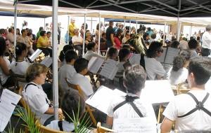 Am Samstag: Unterhaltung mit den Eleven der Inselmusikschule. Foto: Escuela Insular de Música La Palma