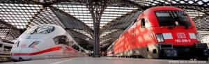 Rail&Fly: Kann bei Germania beim Flugbuchen mitreserviert werden.