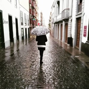 Das Wetter: mal Sonne, mal Wolken und manchmal auch ein paar Tropfen Regen. Foto: Santa Cruz