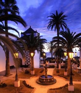 Plaza von San Andrés y Sauces: Drehort für das Fernsehprogramm Noche de Taifas.