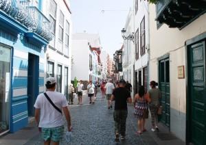 Boom in Santa Cruz de La Palma: ausgelöst durch den allgemeinen Aufschwung auf der Insel und tausende von Kreuzfahrern.