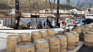 Rum aus La Palma: schippert auf der