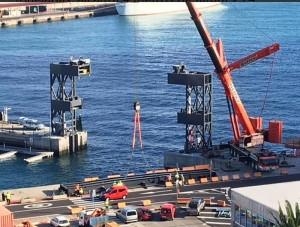 Tore am Eingang zum Yachthafen von Santa Cruz: Schutz vor den Unbilden des Atlantiks. Foto: Hafenbehörden