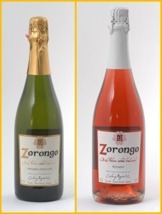 Zorongo: There is the only sparkling wine on La Palma from white and red grapes. Photos: Tendal