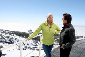 Andrea Kiewel war 2015 mit dem ZDF Fernsehgarten auf La Palma: 2018 kommt sie nach Teneriffa! Foto: Christoph Hillenbrand