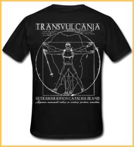 Transvulcania-Klamotten: dürfen auch weniger sportlichen Menschen getragen werden.