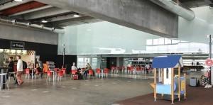 Airport Santa Cruz de La Palma: Enlarged waiting area. Photo: AENA