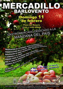 Apples as protagonists: Farmer's market in Barlovento.