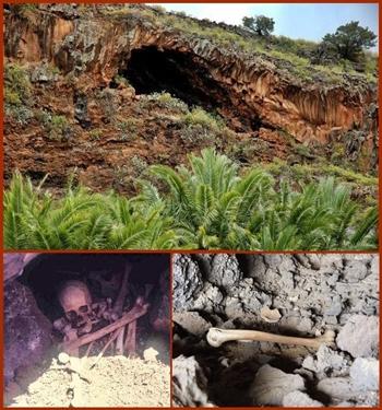 Begräbnishöhle i Barranco San Juan bei