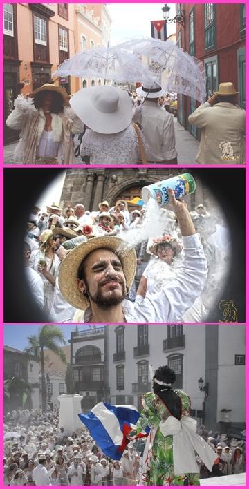 Impressionen vom Día de Los Indianos vergangener Jahre: Wenn Petrus mitspielt, und es nicht regnet, gibt es heute wieder neue Fotos von