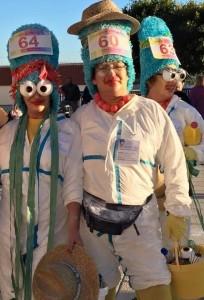 Carnaval Trail in Fuencaliente: wer läuft im verrücktesten Kostüm? Foto: Gemeinde