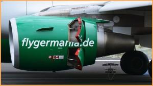 Germania: Die deutsche Airline überrascht jeden Winter mit neuen Strecken nach La Palmal. Foto: Carlos Díaz