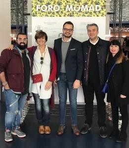 Das Isla Bonita Moda-Team: wertvolle Erfahrungen in Madrid gemacht. Foto: Cabildo