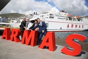 Transvulcania: Die Reederei Armas ist wieder Hauptsponsor.