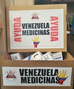 Sammlung für Venezuela: noch nicht abgelaufene Medikamente können in Apotheken in