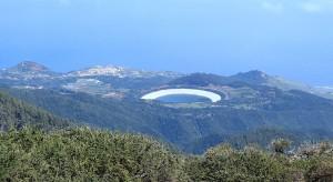 Etwas oberhalb vom Wasserspeicherbecken in La Laguna bei Barlovento entsteht ein Platz für Caravan-Touristen: Die FDCAN-Gelder sind freigegeben. Foto: Gemeinde