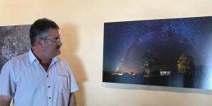 Astrofoto-Wettbewerb 2017: Die besten Bilder sind nun in der Casa Salazar zu sehen. Foto: Cabildo