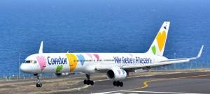Fluggäste vertrauen auf die Marke Condor: