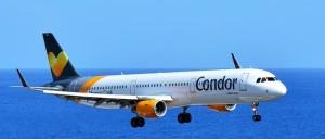 Condor: Der Ferienflieger will 2018/19 siebenmal pro Woche Kurs auf La Palma nehmen. Foto: Carlos Díaz