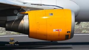 Die Thomas Cook Group Condor ist ein Motor