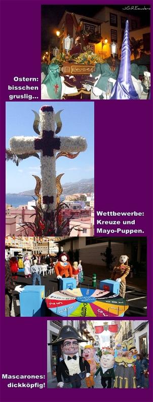 Fiestas auf La Palma: