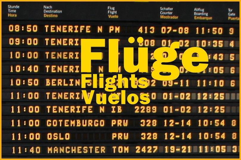 Flugplan Manchester