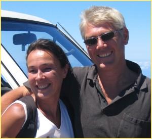 Georg Maghon: Der Meeresbiologe und seine Frau Barbara betreiben in Puerto Naos das Dive Center namens Tauchpartner.