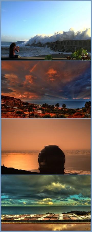 Besonders wenn das Wetter wechselhaft ist: Webcams im Westen, Osten, Norden und Süden von La Palma helfen bei der Urlaubsgestaltung. Alle Fotos Copyright Facundo Cabrera