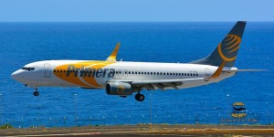 Primera Air: Diese Flieger sind die Skandinavien-Connection von La Palma. Foto: Carlos Díaz