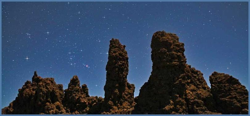 La Palma hieß einst Benahoare: Wie einst bieten sich an magischen Plätzen wundervolle Blicke ins Universum. Foto: Hola Islas Canarias