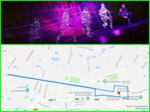 Am Samstag: Wenn es Nacht wird in Los Llanos startet der Neon Run.
