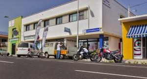 Die Zentrale von La Palma 24: Im Büro in Todoque ist immer was los.