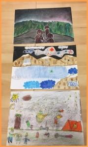Kindermalwettbewerb zum Astrofest 2018 auf La Palma: die Siegerbilder.