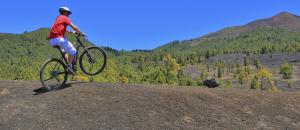 Landschaft genießen ohne sich zu verausgaben: E-Bikes von La Palma 24 machen es möglich!