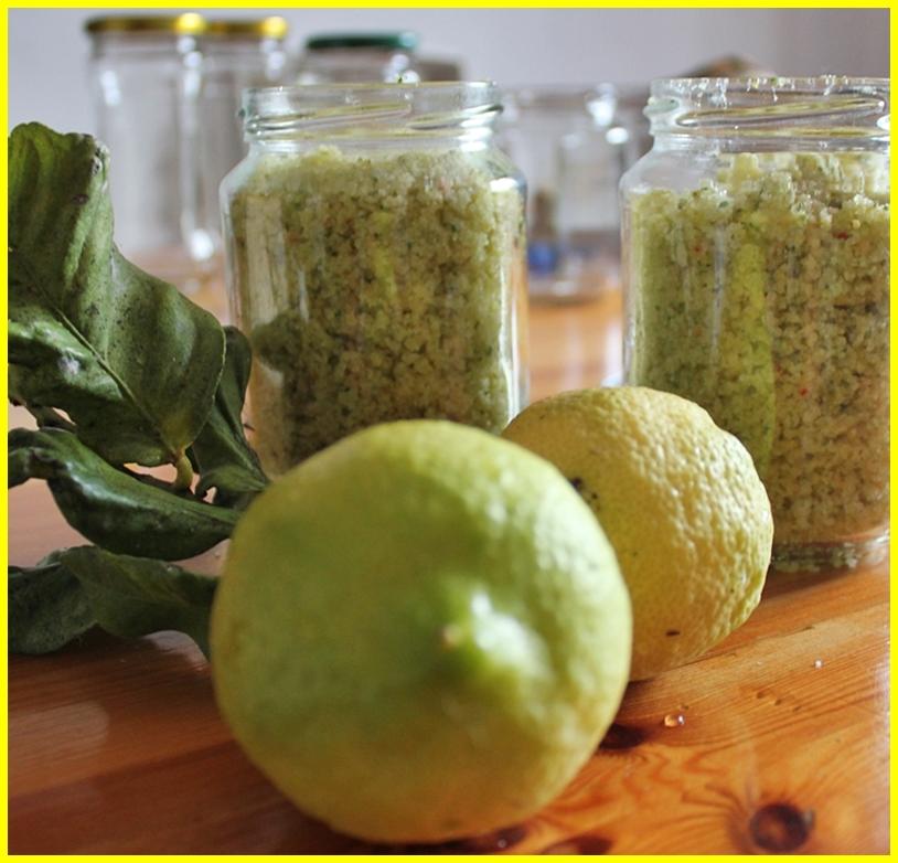 Zitronen im Garten: haltbar machen im Salz. Foto: La Palma 24