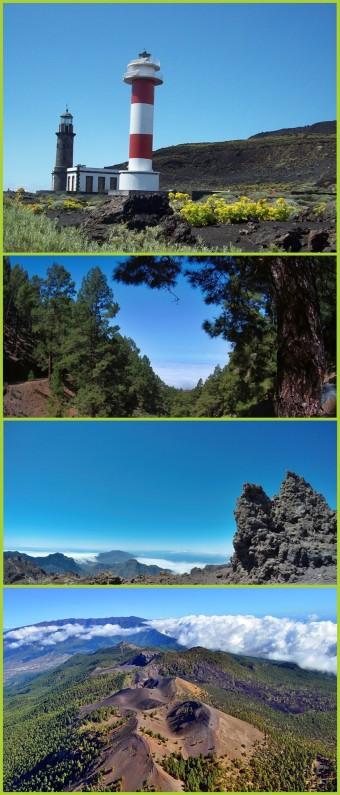 Wandern auf La Palma: Von der Mondlandschaft im Süden über die Cumbres und Kanarenkiefernwälder bis hinauf zum Calderarand
