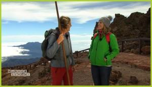 WDR-Reiseserie Wunderschön: Beim Film über La Palma wanderte Mike Keim mit Moderatorin