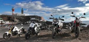 Biker-Träume werden wahr: Motorradurlaub auf der Isla Bonita mit tollen Maschinen von La Palma 24!