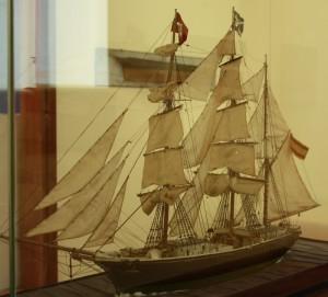 Schau im MAC: Es geht um die Ära des Schiffbaus auf La Palma.