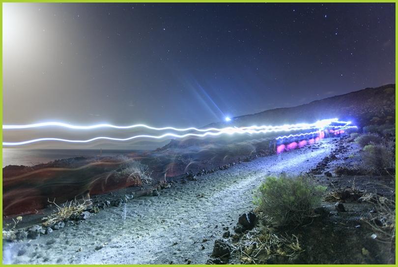 Einfach wanderful: Wandern auf der Isla Bonita ist bei Tag und Nacht ein einmaliges Erlebnis - vorausgesetzt, man geht immer auf Nummer sicher! Foto: Wanderfestival La Palma