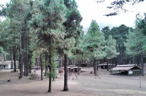 Freizeitanlage El Pilar auf dem Sattel der Cumbre: wird jetzt noch komfortabler und sicherer. Foto: Cabildo