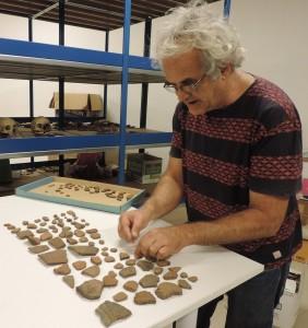 Keramikreste aus Zeiten der Benahoaritas: Der Spender blieb anonym, aber wichtig ist, dass solche Artefakte nicht auf dem Müll landen. Foto: Cabildo