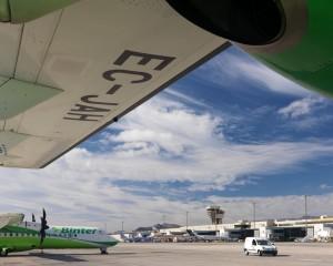 Binter Canarias: Die alteingesessene Kanaren-Fluggesellschaft bedient sowohl die Strecke Gran Canaria-La Palma als auch Teneriffa-Nord La Palma. Foto: AENA