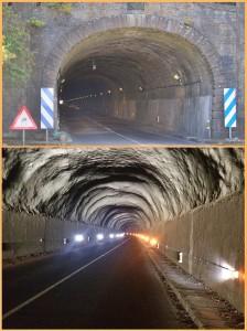 Alter Cumbre-Tunnel: Die Sanierung ist dringend nötig. Fotos: Cabildo