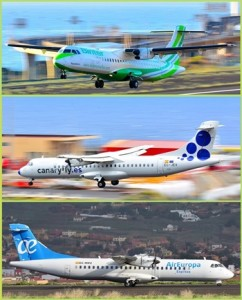 Von La Palma nach Teneriffa-Nord: Drei Airlines fliegen zu dem Airport, der nahe der Universitätsklinik liegt. Im Reisebüro wird man beraten, welcher Flieger am besten zum Termin passt. Fotos: Carlos Díaz