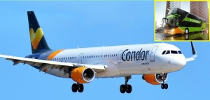 Condor wird Partner von FlixBus: Passagiere können mit dem Bus zum Flughafen fahren. Foto: Carlos Díaz